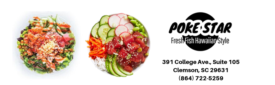 Poke Star Clemson Opens Today!